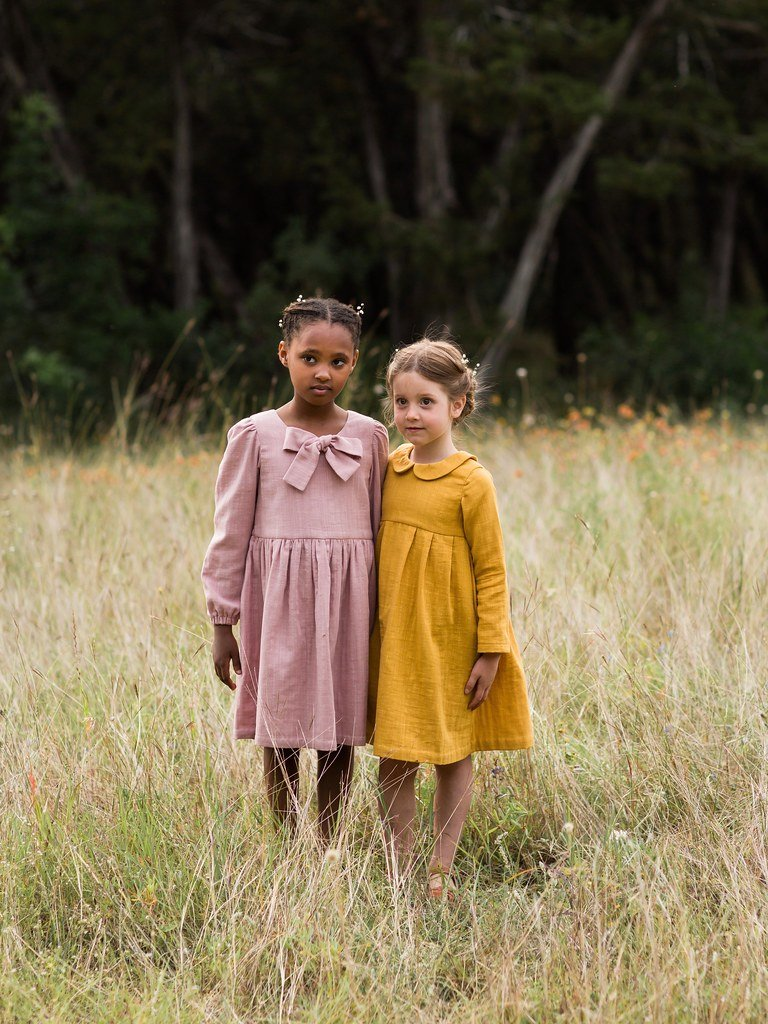 Made by Rae - Geranium Dress Girls Expansion Pack (0-12Y)
