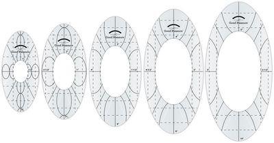 Amanda Murphy - Good Measure - 5 piece Oval Set