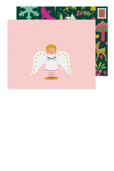 Alison Glass Chorus Angel Card