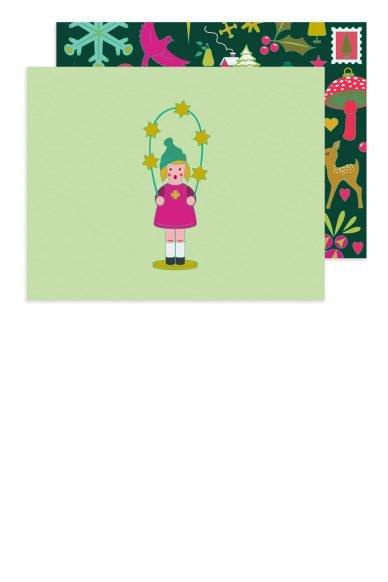 Alison Glass Chorus Girl Card