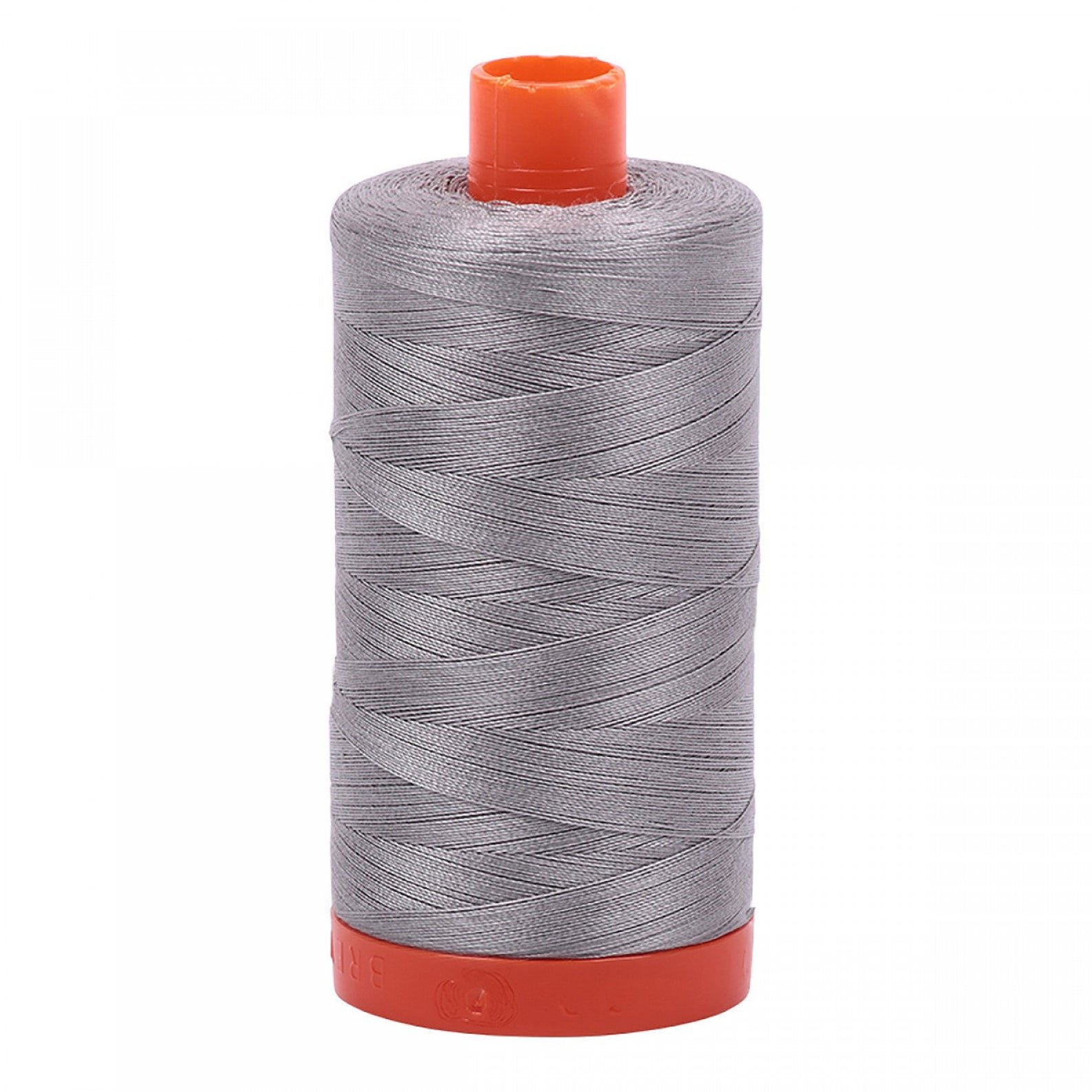 Aurifil Thread Mako 50wt 1300m (Stainless Steel)