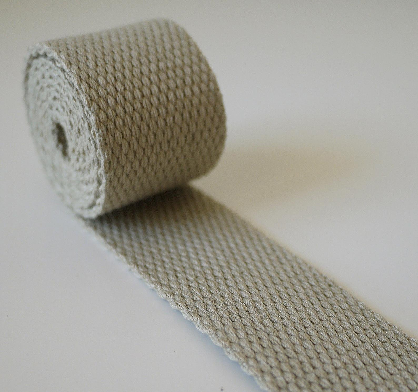 Cotton Webbing 1-1/2in (Khaki)