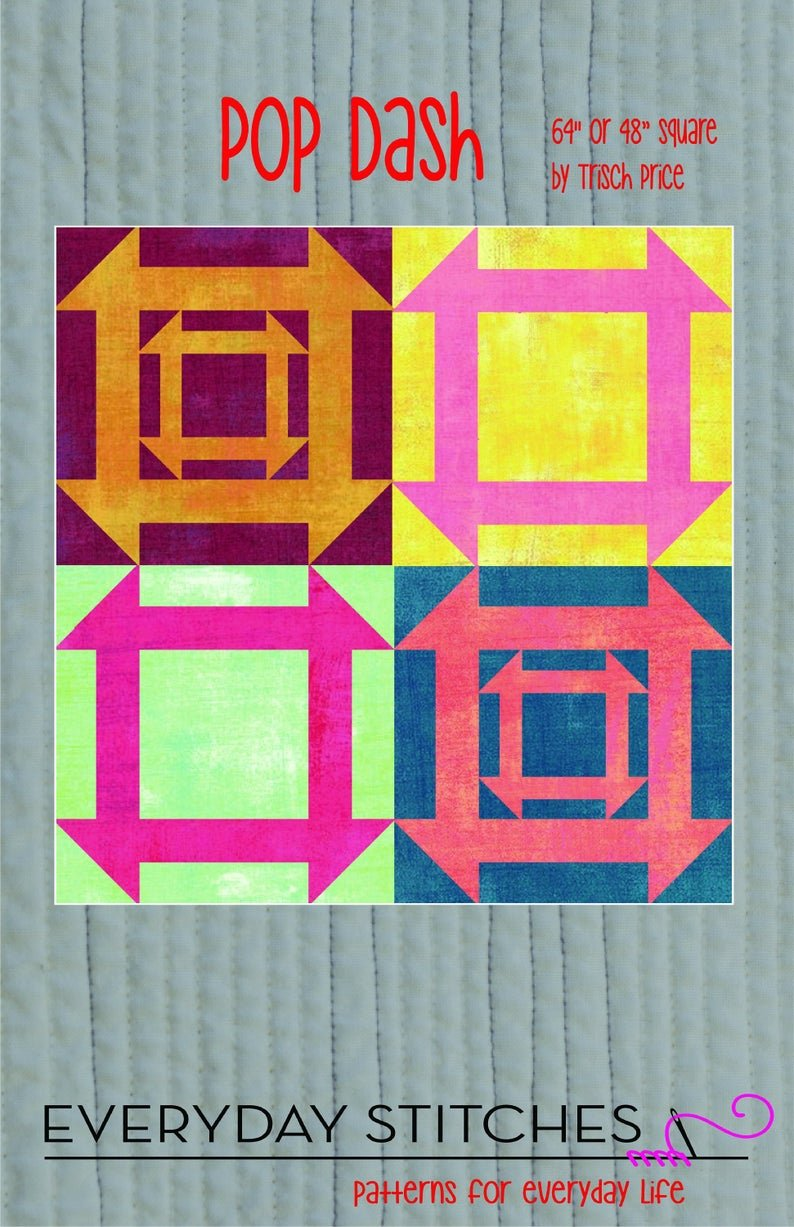 Everyday Stitches - Pop Dash Quilt Pattern