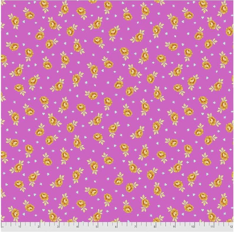 Tula Pink - Curiouser & Curiouser - Baby Buds (Wonder)
