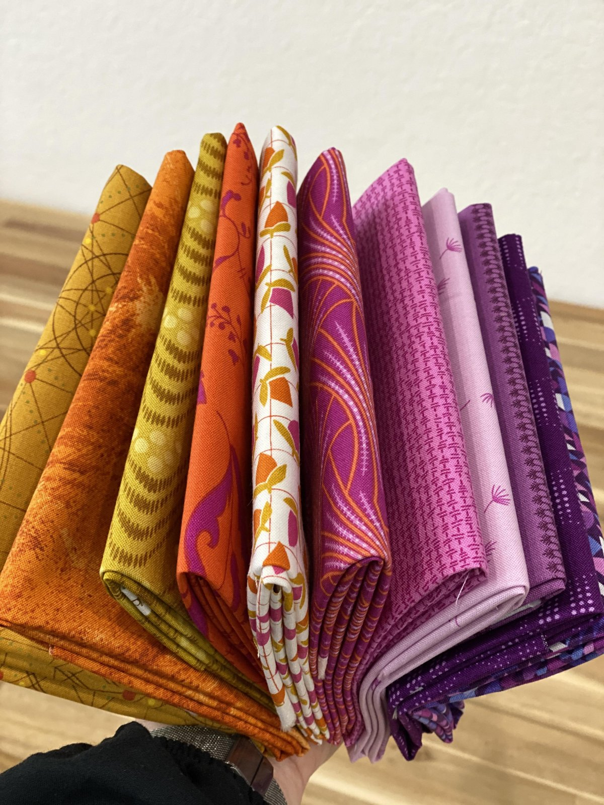 Andover Collective - FQ Bundle in Flameberry - 11 pieces