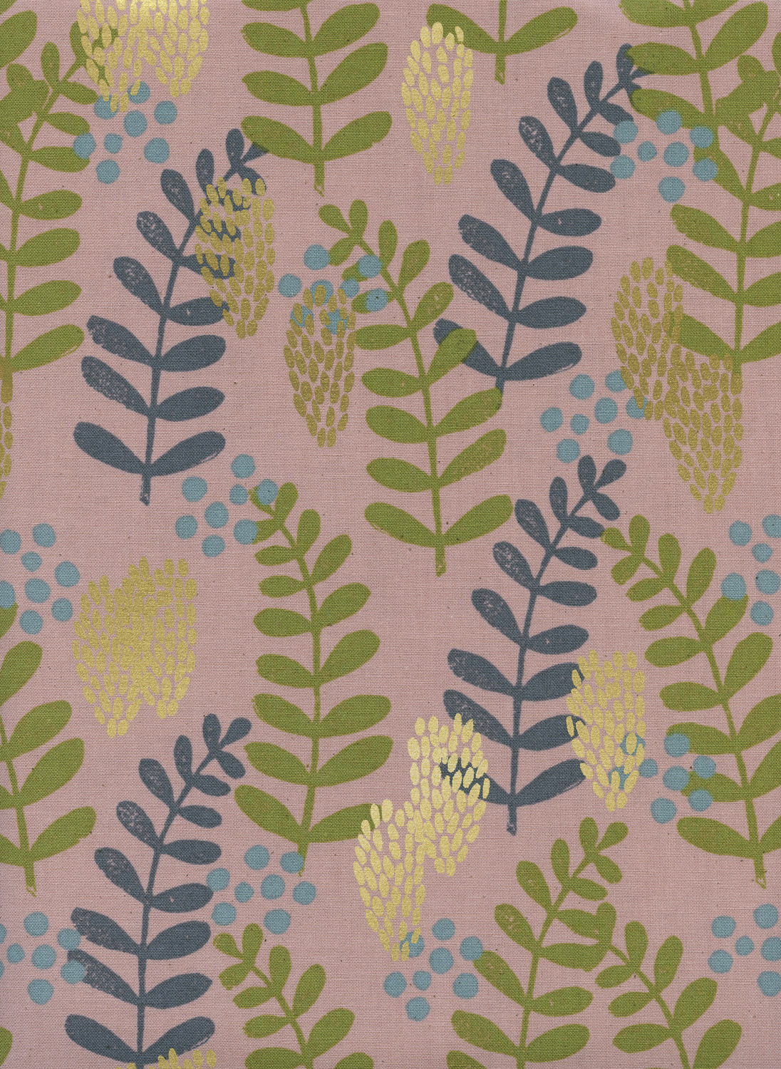 Jen Hewett Imagined Landscapes - Fern Dell (Rose Gold)