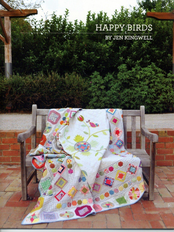 Jen Kingwell - Happy Birds Booklet