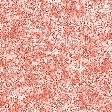 Carolyn Friedlander - Lucinda Rayon Lawn (Persimmon)