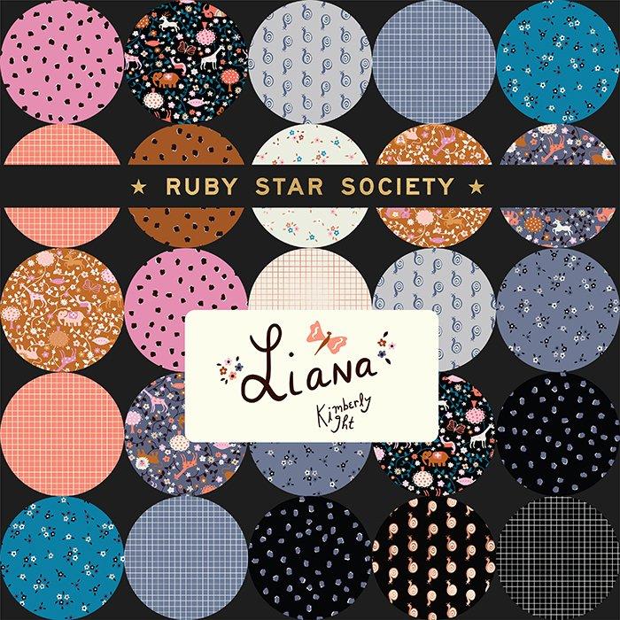 Fat Quarter Bundle - Ruby Star - Liana by Kimberly Kight