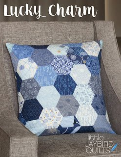 Jaybird Quilts - Lucky Charm Pillow