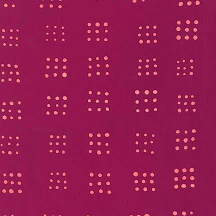 Mark to Make Batiks - 9 Patch (Raspberry)