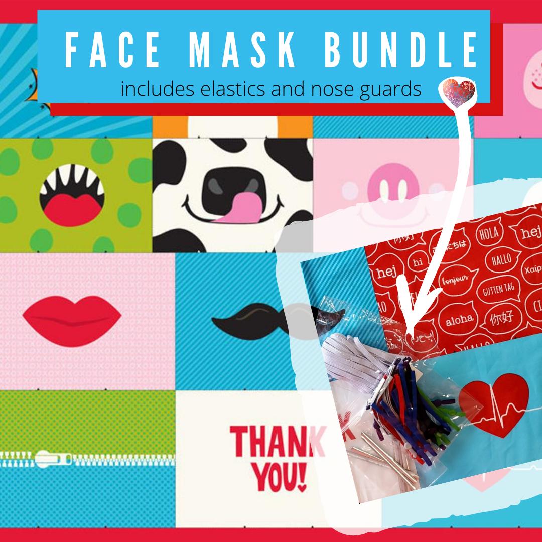 Safety First Face Mask Bundle