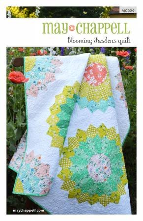 May Chappell -  Blooming Dresden Quilt