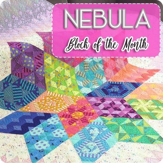 BOM 2021 Tula Pink and Jaybird Quilts - Nebula