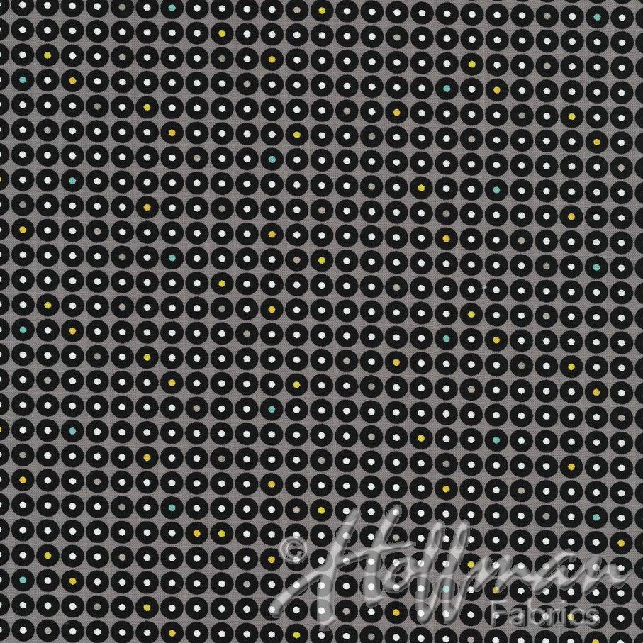Latifah Saafir Grafic - Charcoal Dots