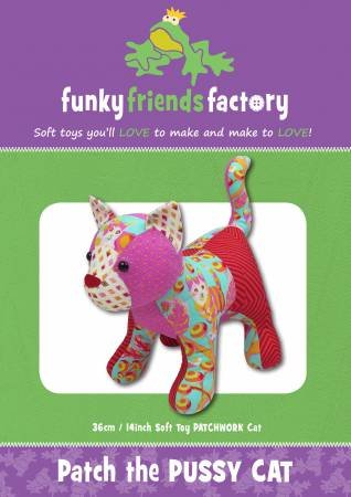 Funky Friends Patch the Pussycat