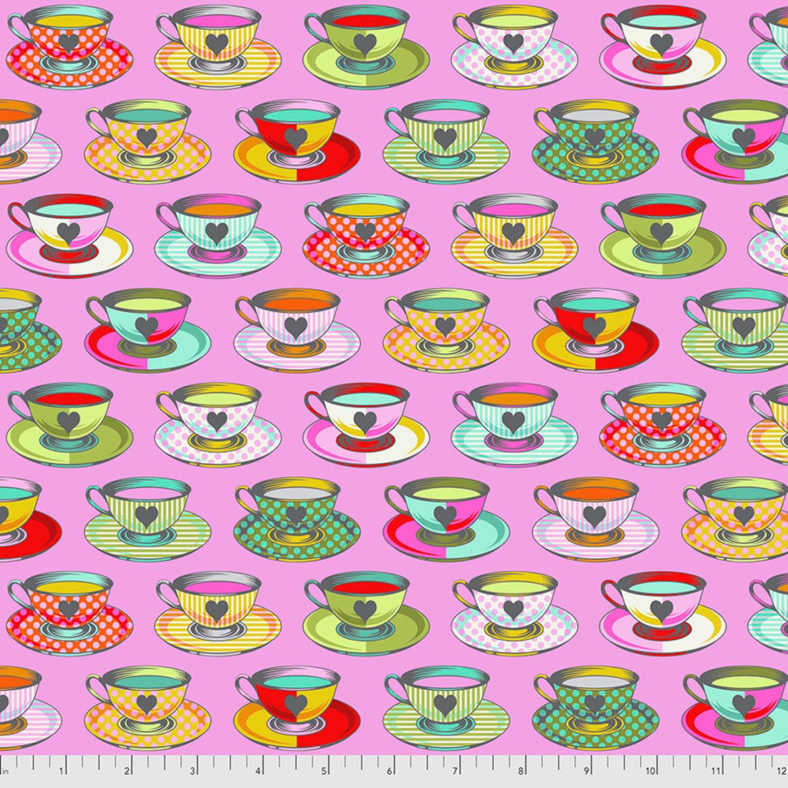 Tula Pink - Curiouser & Curiouser - Tea Time (Wonder)