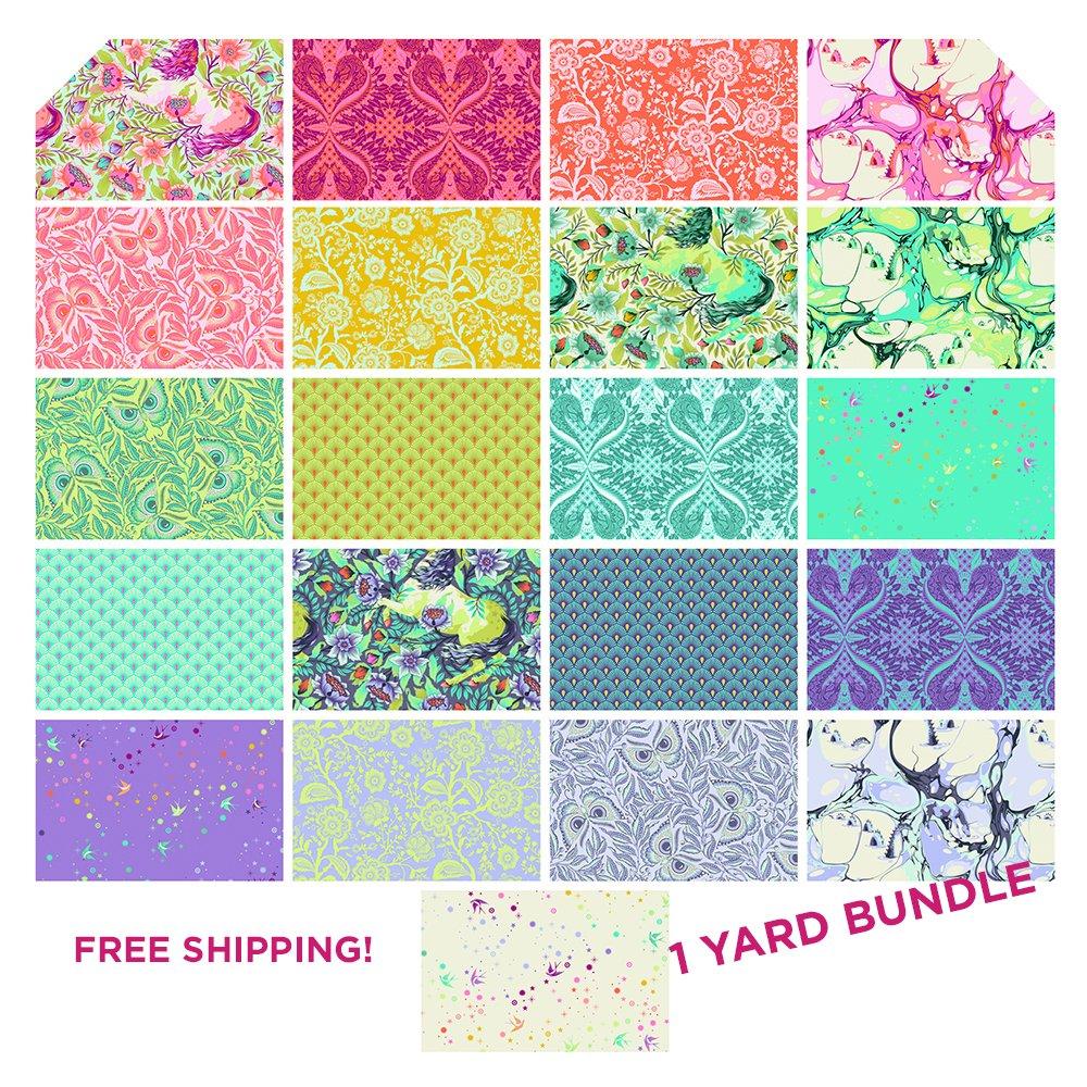 Tula Pink Pinkerville - PRE-ORDER 1 yard bundle