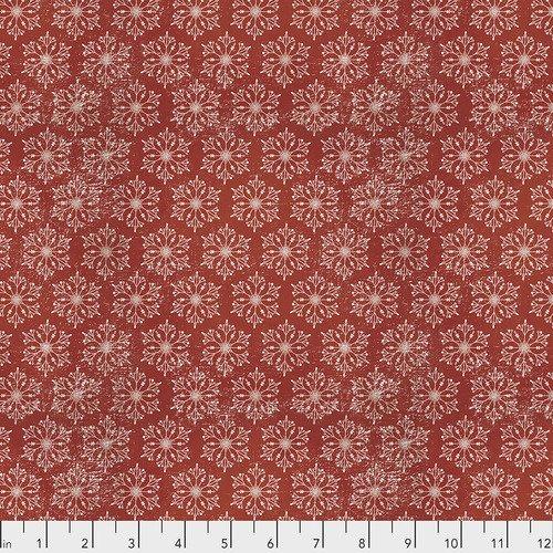 Tim Holtz - Yuletide - Snowflakes (red)