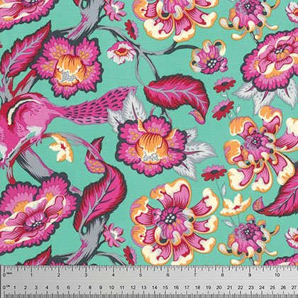 Tula Pink Chipper Collection - Chipmunk (Sorbet)