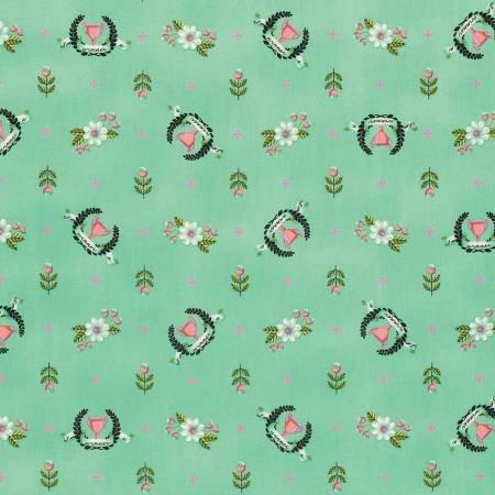 Tula Pink Slow & Steady Collection - Winners Circle (Strawberry Kiwi)