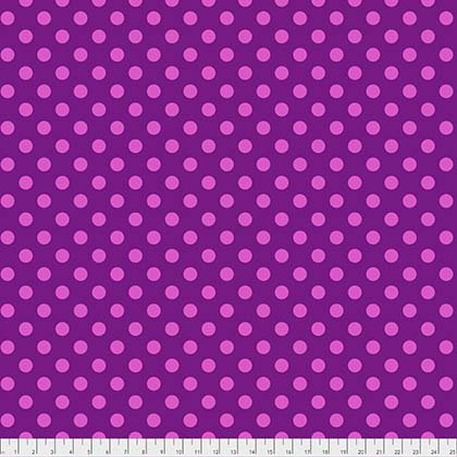 Tula Pink All Stars Collection - Pom Poms (Foxglove)