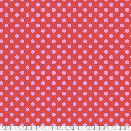Tula Pink All Stars Collection - Pom Poms (Poppy)