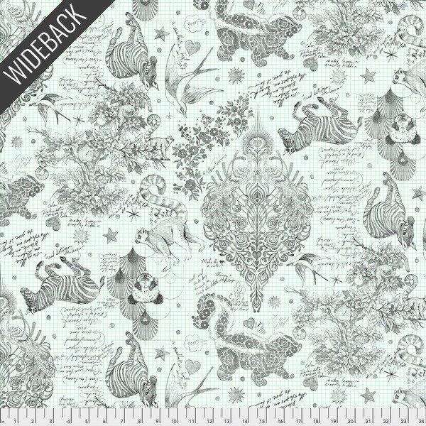 Tula Pink - Linework Wideback - Sketchyer (Paper)