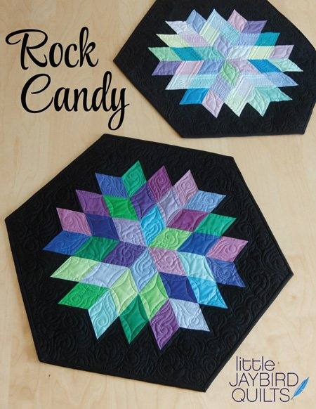 Jaybird Quilts- Rock Candy Table Topper
