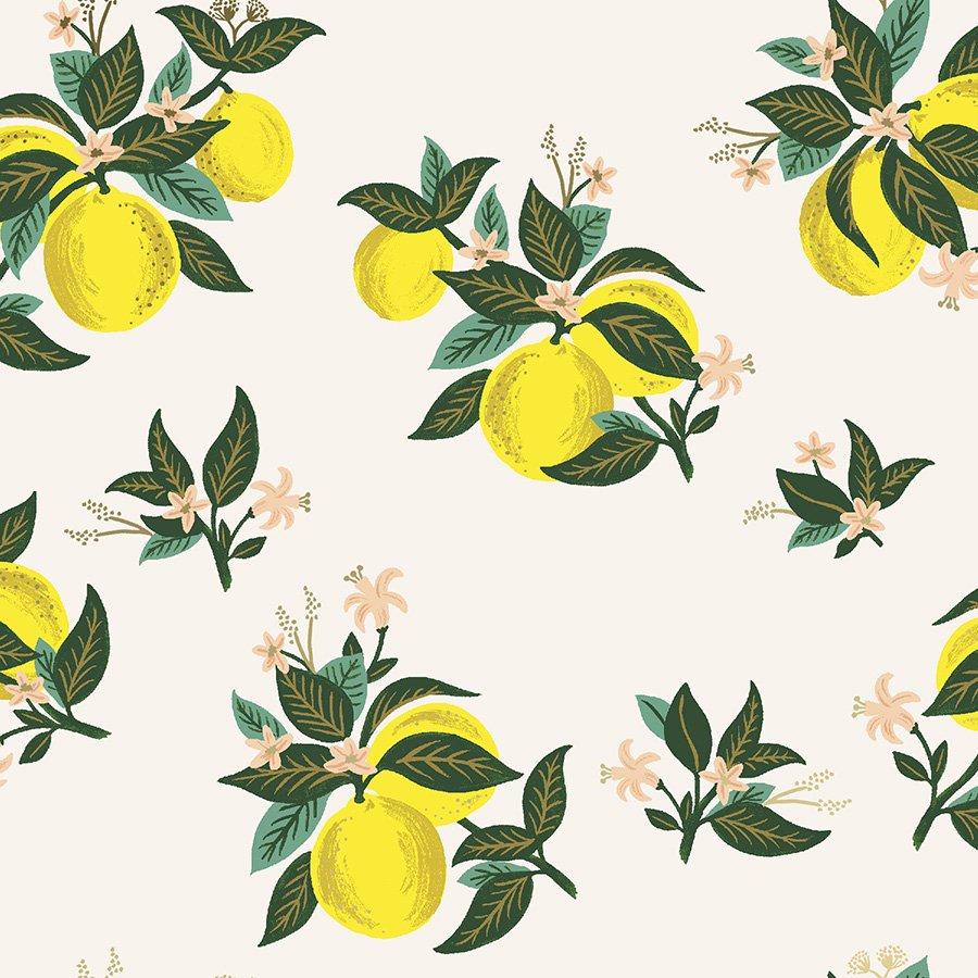 Rifle Paper Co. Primavera Citrus Blossom (Lemon Metallic)