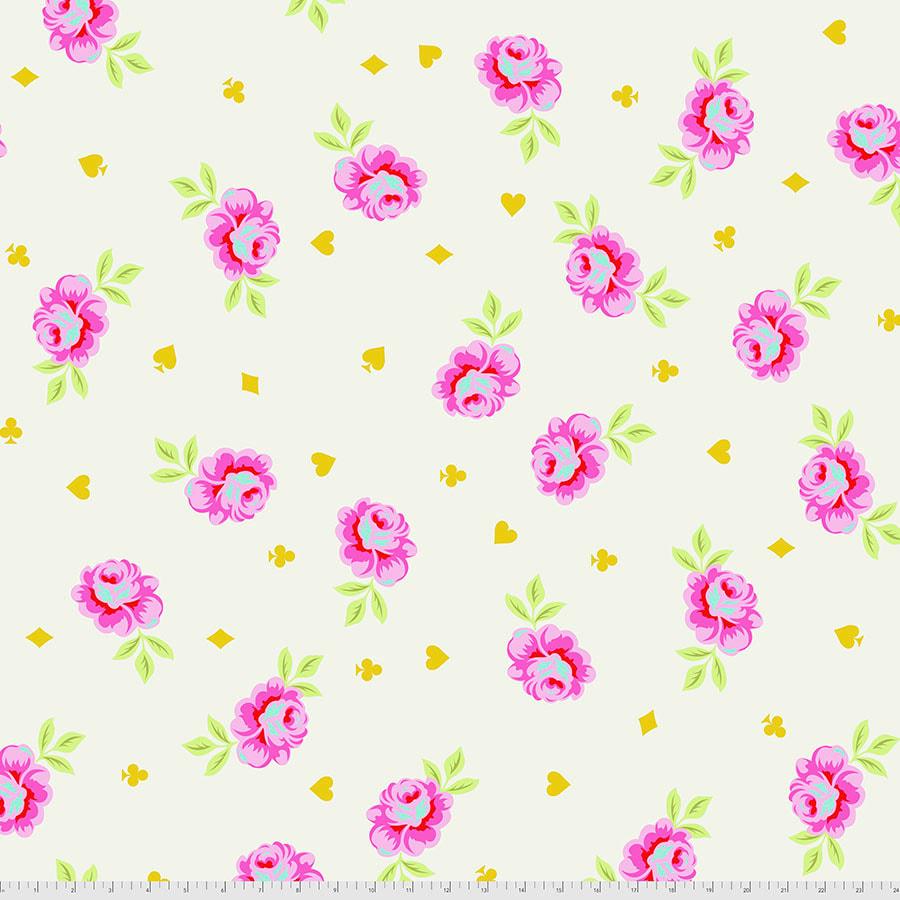 Tula Pink - Curiouser & Curiouser - Backing Fabric - Big Buds (Wonder)