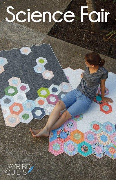 Jaybird Quilts- Science Fair Quilt (multi Sizes)