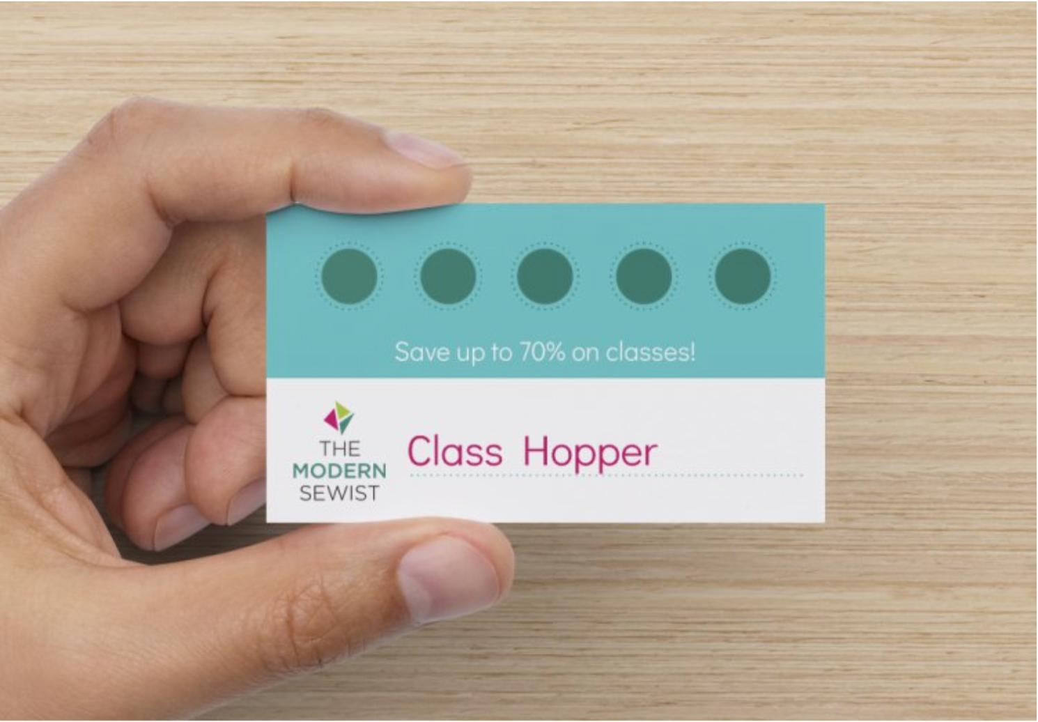 Class Hopper Punchcard