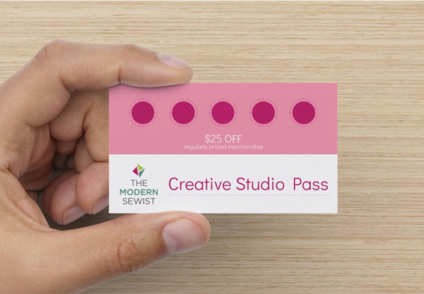 Creative Studio Pass