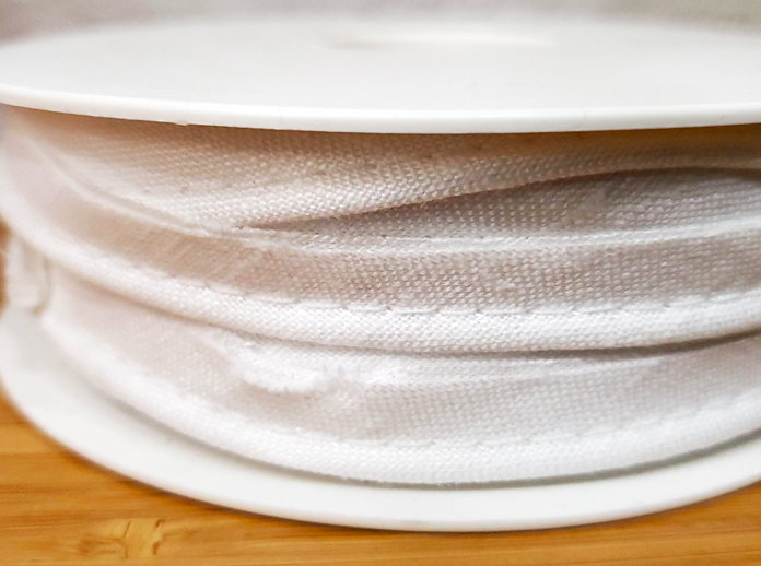 100% Linen Piping (Ivory)