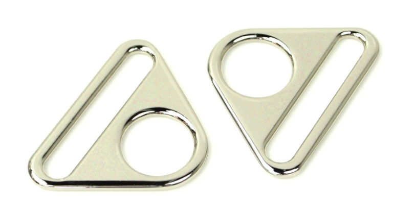 Nickel 1 Triangle Rings (two sets)