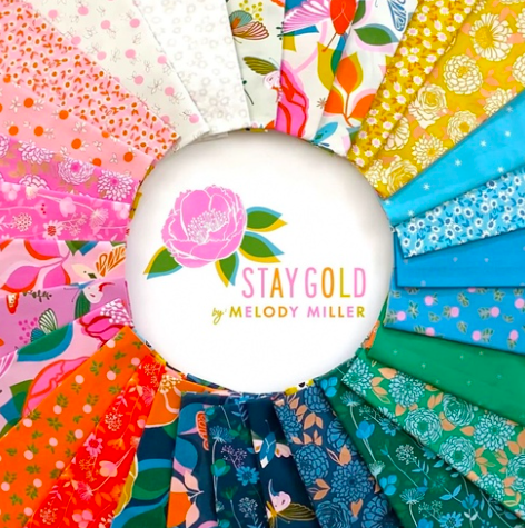 Fat Quarter Bundle - R.S.S. - Melody Miller - Stay Gold (28 count)