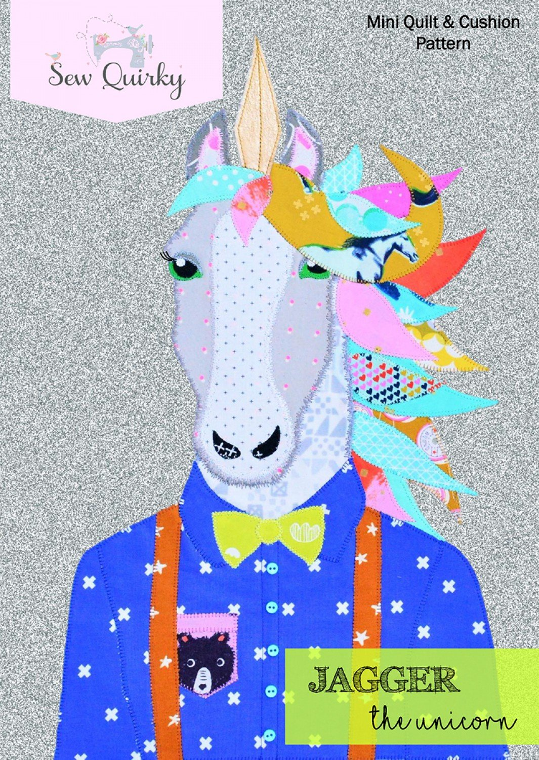 Sew Quirky - Jagger the Unicorn