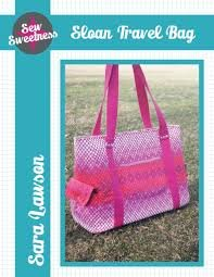 Sloan Travel Bag Pattern - Sew Sweetness