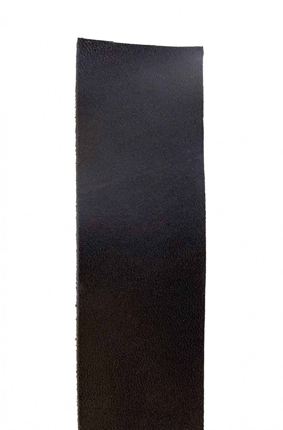 Leather Bag Strap Wide - Black (1.25 inch by 45 inch)