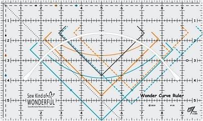 Sew Kind of Wonderful -Wonder Curve Ruler