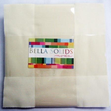 10 Layer Cake - Moda Bella Solids in Snow