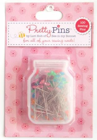 Pretty Pins Lori Holt -Sewing pins 100 count