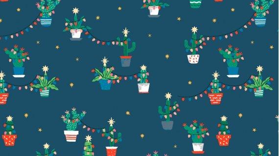 Dear Stella Fa La La Llama Holiday Cacti (Orion)