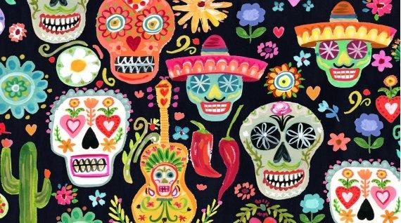 Dear Stella - August Wren - Viva Mexico! (Day of the Dead)