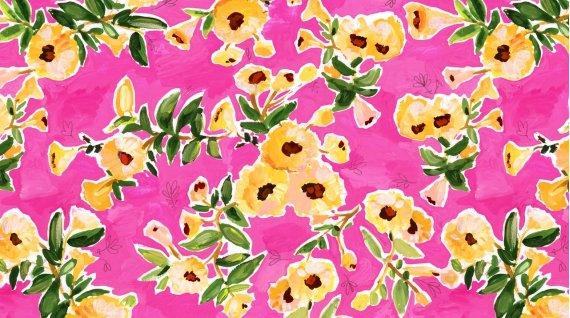 Dear Stella - August Wren - Viva Mexico! (Flower Wall)