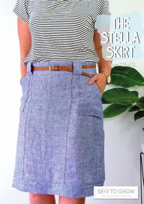 Sew To Grow - The Stella Skirt