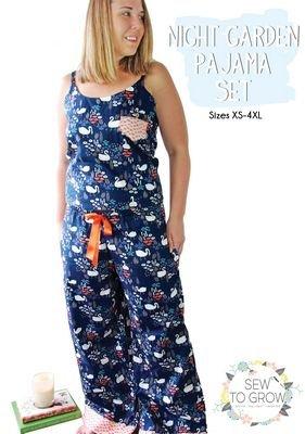 Sew To Grow - Night Garden Pajama Set