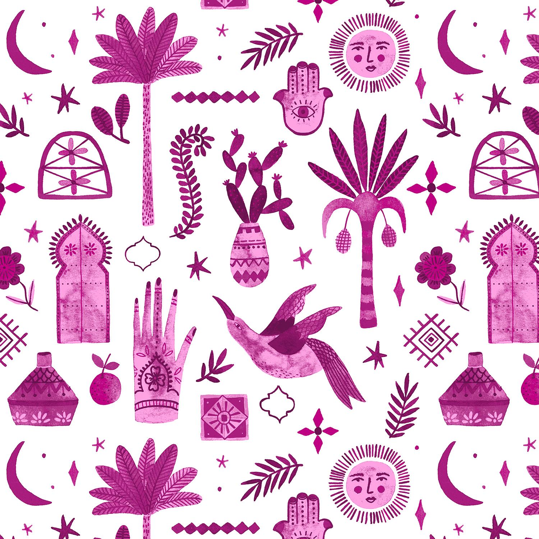 Marbella - Moroccan Nights - Summer Plum