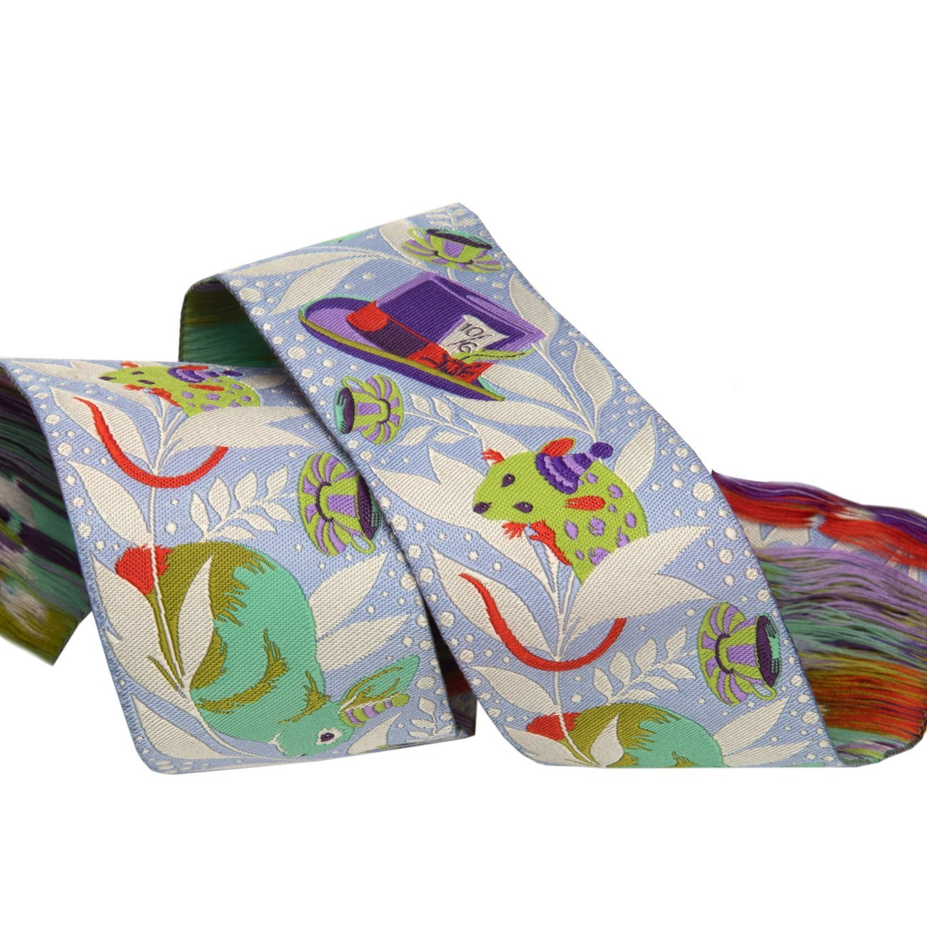 Renaissance Ribbons -Tula Pink Curiouser - Madhatter Purple-2